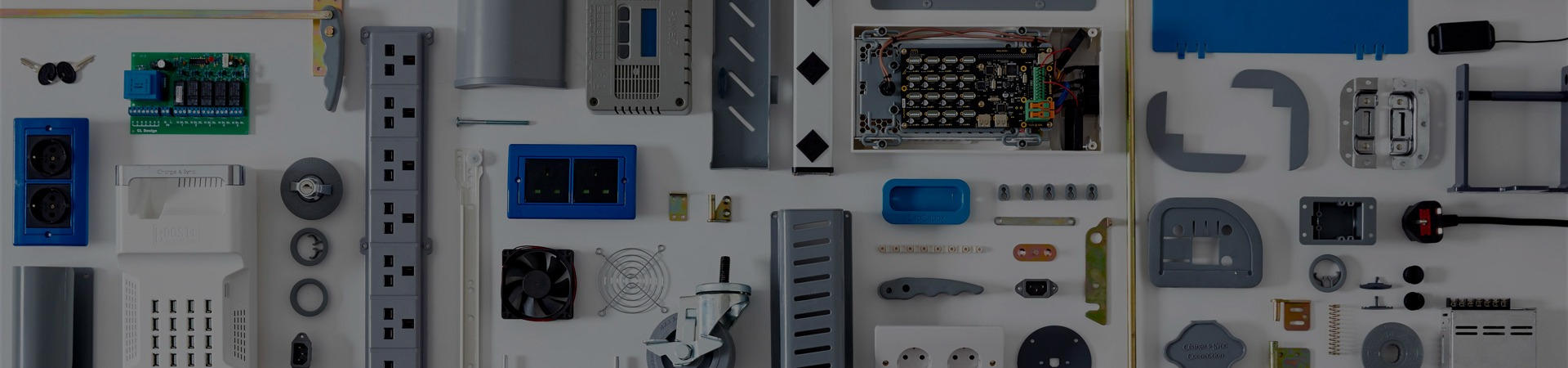 LapCabby electrical components banner
