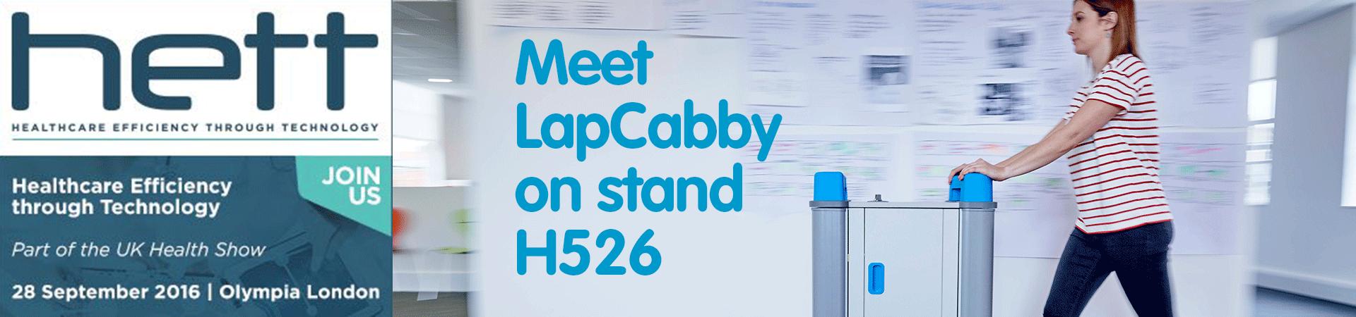 LapCabby at HETT 2016 H526