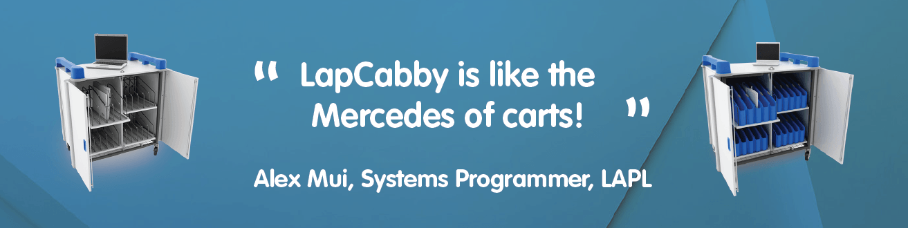 LapCabby is like the Mercedes of Carts!