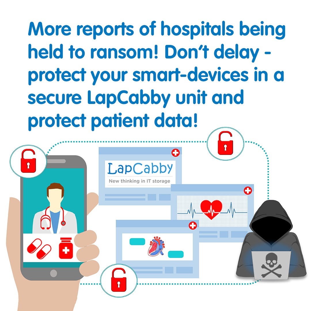 More Reports of Hospitals Being Held to Ransom by Hackers!